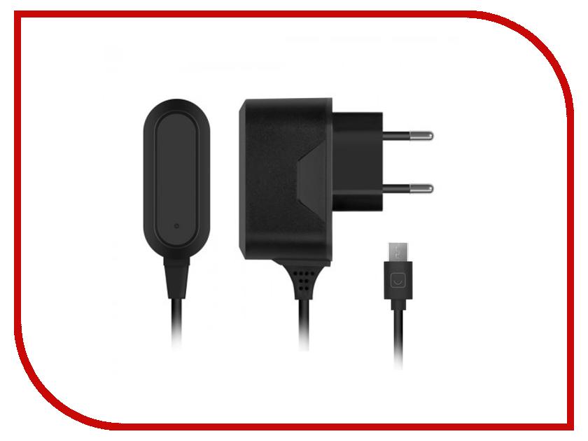 Зарядное устройство Prime Line micro USB 2100 mA Black 2309