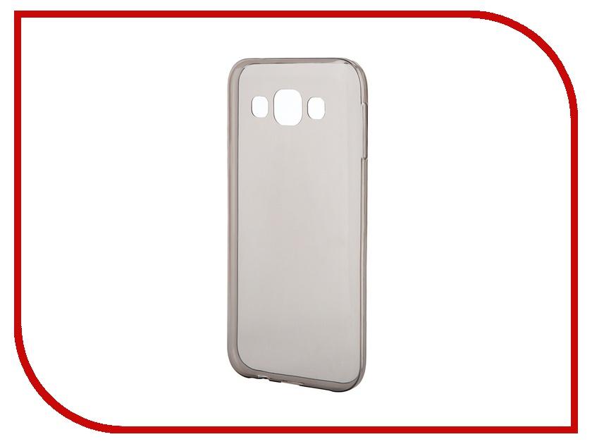 Аксессуар Чехол-накладка Gecko for Samsung Galaxy E5 E500H силиконовый Black<br>