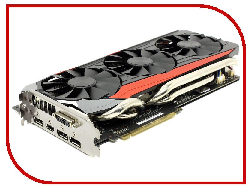 Видеокарта ASUS GeForce GTX 980 Ti 1000Mhz PCI-E 3.0 6144Mb 7010Mhz 384 bit DVI HDMI HDCP STRIX-GTX980TI-DC3-6GD5<br>