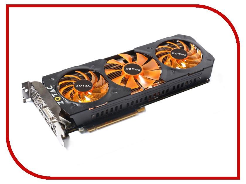 Видеокарта ZOTAC GeForce GTX 980 1139Mhz PCI-E 3.0 4096Mb 7010Mhz 256 bit DVI HDMI HDCP Cool<br>