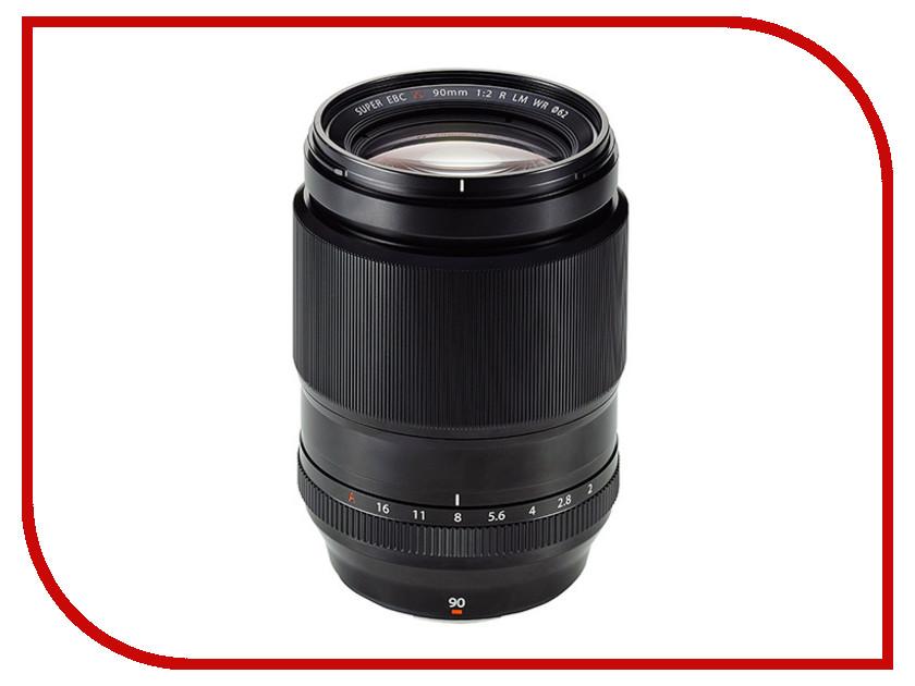 Объектив Fujifilm XF 90mm f/2 R LM WR<br>