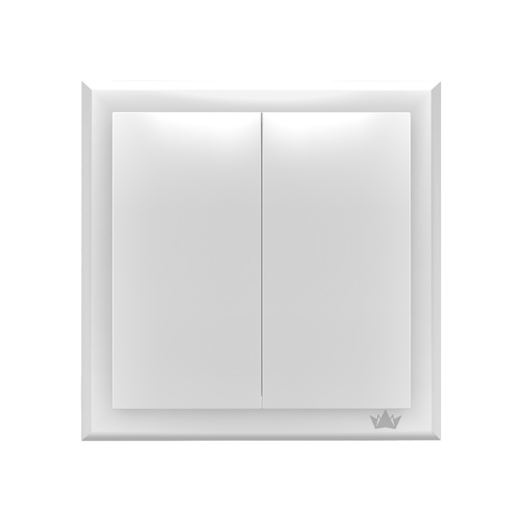 Выключатель Brenin Easy Switch Dau White SW-02W