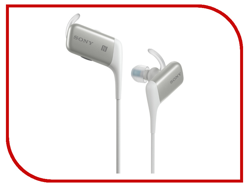 Гарнитура Sony MDR-AS600BT White<br>