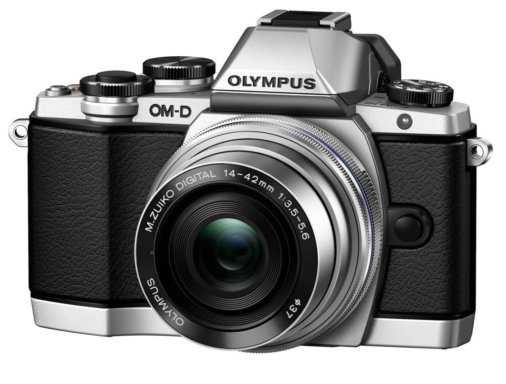 Фотоаппарат Olympus OM-D E-M10 Body Silver<br>