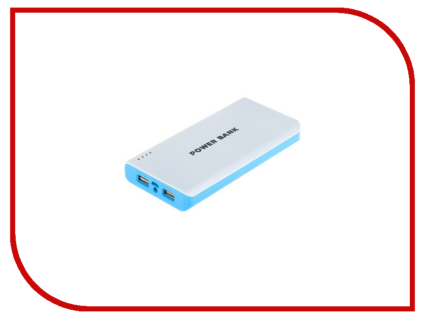 Аккумулятор Luazon Power Bank 10200 mAh 1065919<br>