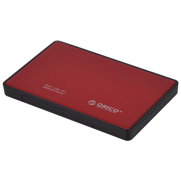 Фото - Корпус для HDD Orico 2588US3 Red 2588US3-RD / 2588US3-V1-RD-PRO корпус 2 5 orico 2588us3 sata usb3 0 black