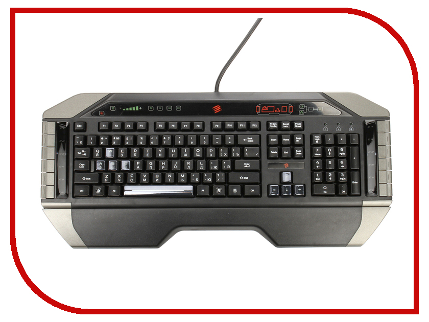 Клавиатура Mad Catz V.7 Keyboard MCB43107R0B2/04/1 / MCB43107N0B2/04/1 simba simba filly мягкая лошадка эльф 30 см