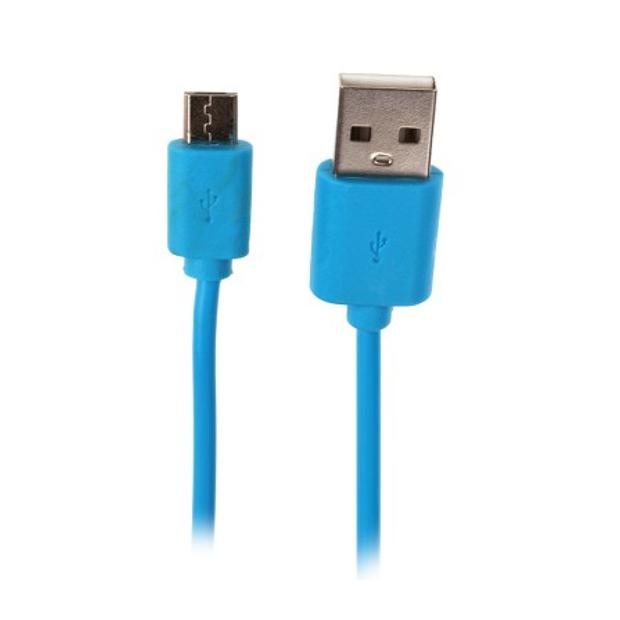 Аксессуар OltraMax USB 2.0 to Micro USB 1m Light Blue OM-K-00051