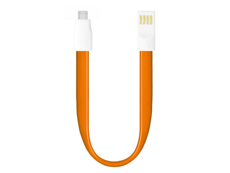 Аксессуар OltraMax USB 2.0 to Micro USB 0.2m Orange OM-K-00078