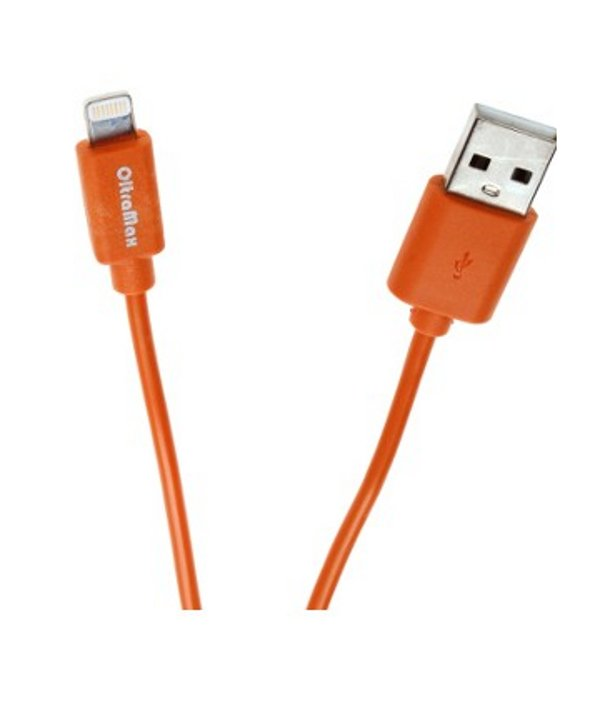 Аксессуар OltraMax USB 2.0 to Lightning 1m Orange OM-K-00059