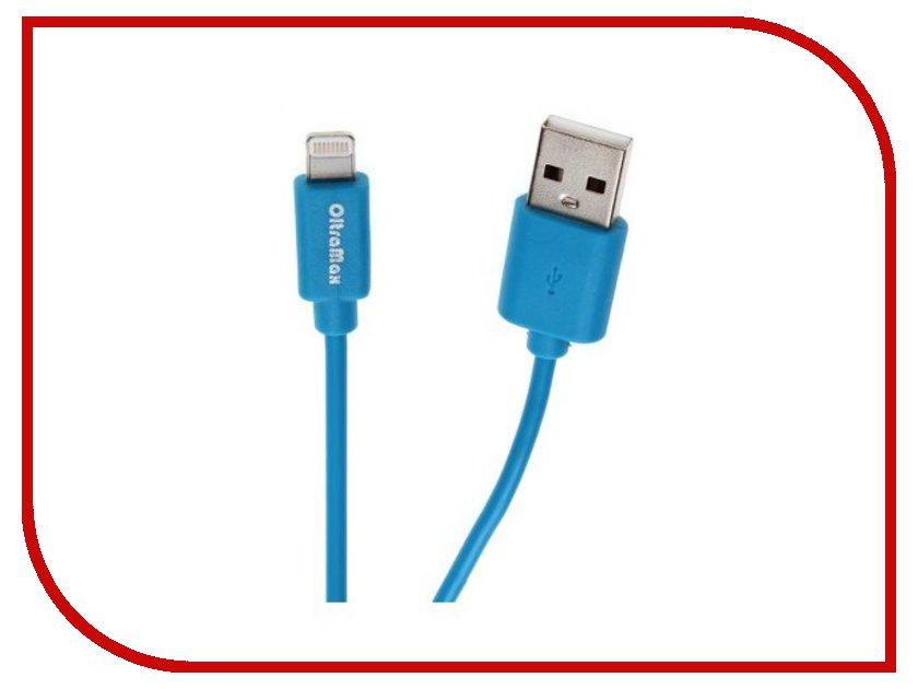 Аксессуар OltraMax USB 2.0 to Lightning 1m Light Blue OM-K-00061<br>