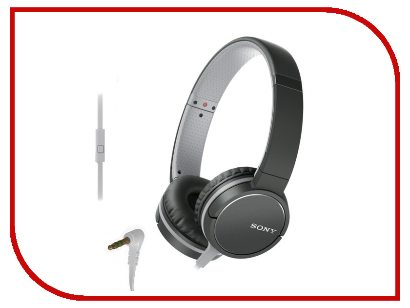Sony MDR-ZX660AP Black sony mdr zx330bt black