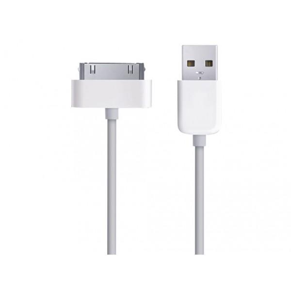 Аксессуар OltraMax USB 2.0 to 30-pin 1.5m White OM-K-00044