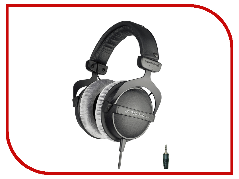 Beyerdynamic DT 770 PRO 80 Ohm beyerdynamic dt 770 pro 32 ohm professional studio headphones close back headphone for mobile use new in official retail box