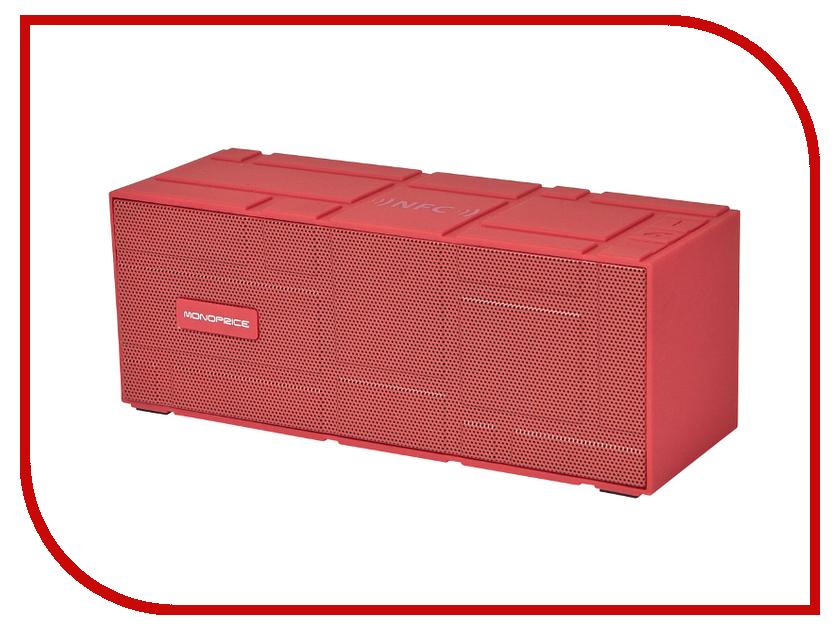 Колонка Monoprice Portable Bluetooth NFC Brick Red 10950<br>