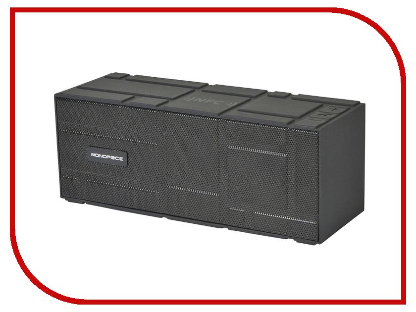 Колонка Monoprice Portable Bluetooth NFC Brick Black 10949<br>