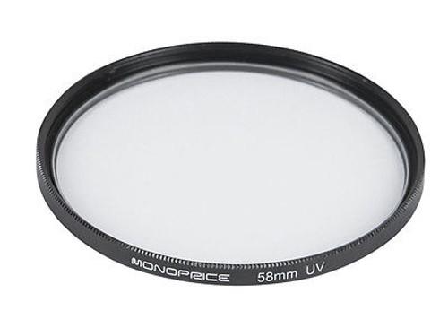 Светофильтр Monoprice UV 58mm 10179