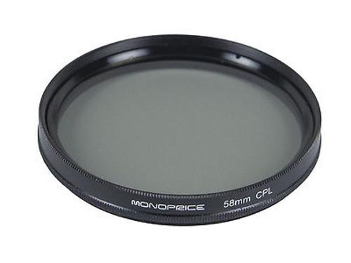 Светофильтр Monoprice CPL 58mm 10175<br>