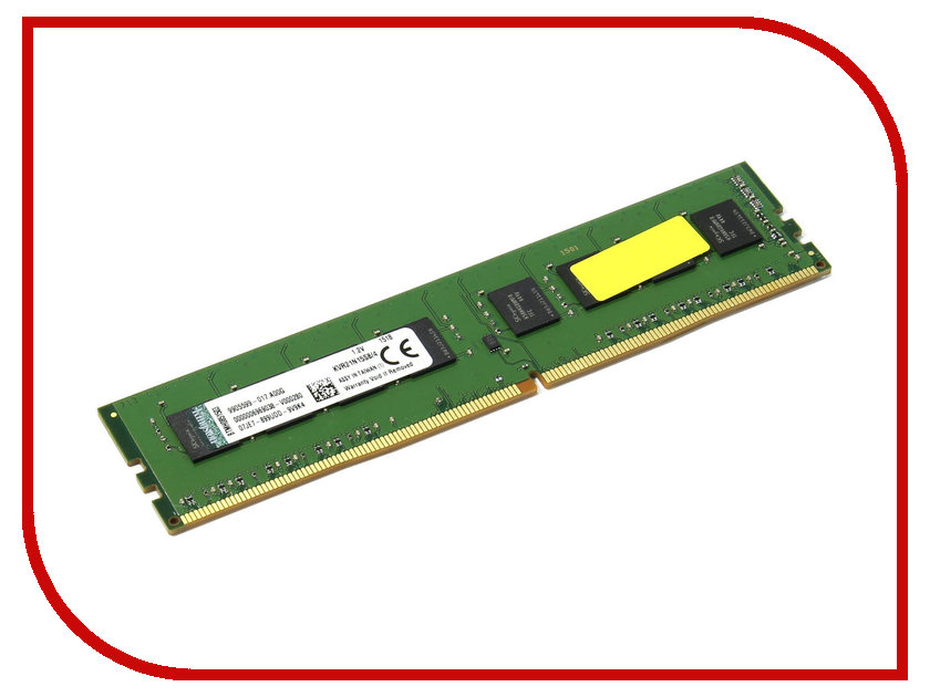 Модуль памяти Kingston DDR4 DIMM 2133MHz PC4-17000 CL15 - 4Gb KVR21N15S8/4