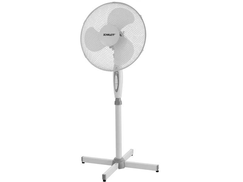 Вентилятор Scarlett SC-SF111B04 White scarlett sc 371 white вентилятор