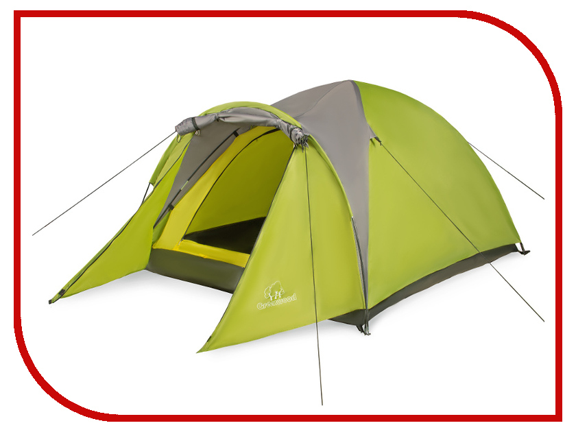 Палатка Greenwood Target 2 Green-Grey