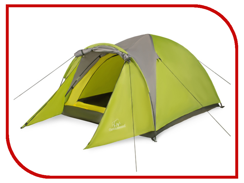 Палатка Greenwood Target 3 Green-Grey