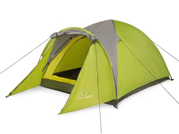 Палатка Greenwood Target 3 Green-Grey палатка greenell виржиния 6 плюс green