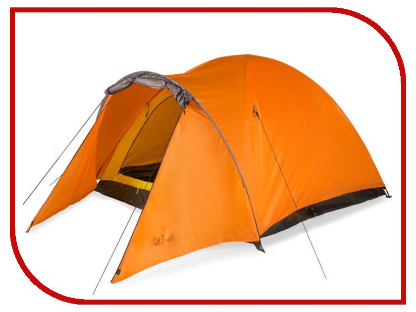 Палатка Greenwood Target 3 Orange-Grey greenwood tarp