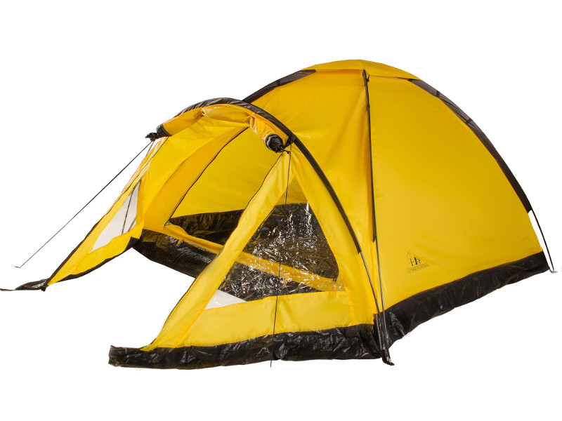 лучшая цена Палатка Greenwood Yeti 3 Yellow