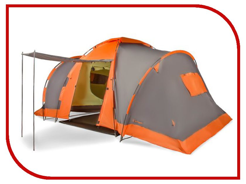 Палатка Larsen Camping 4 Grey-Orange<br>