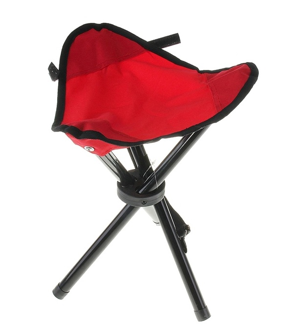 Стул Onlitop складной Red 134188 цена 2017
