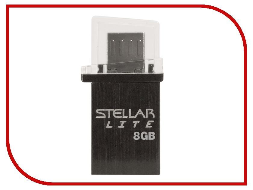 USB Flash Drive 8Gb - Patriot OTG STELLAR LITE USB PSF8GSTRLTOTG<br>