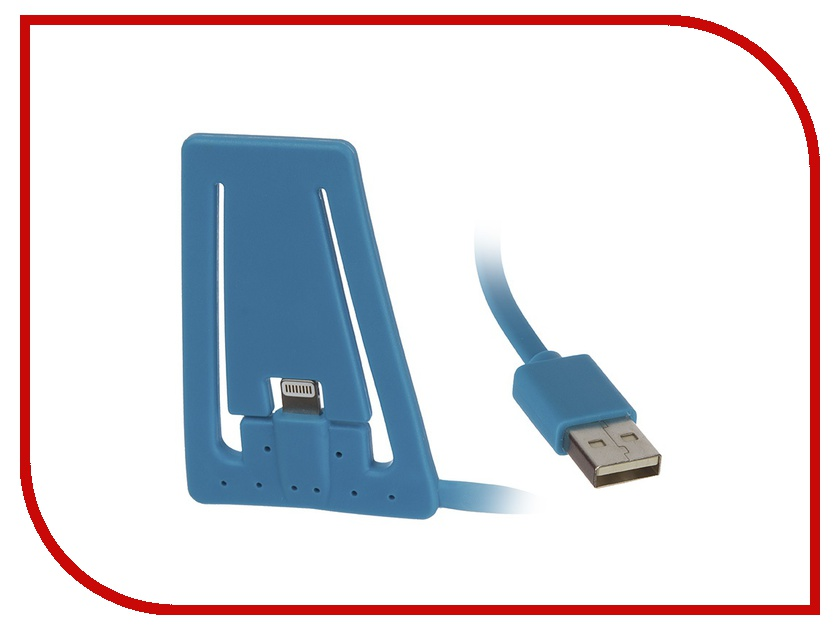 Аксессуар PQI USB to Lightning для iPhone/iPod Blue PQI-iSTANDCHARGE-BL<br>