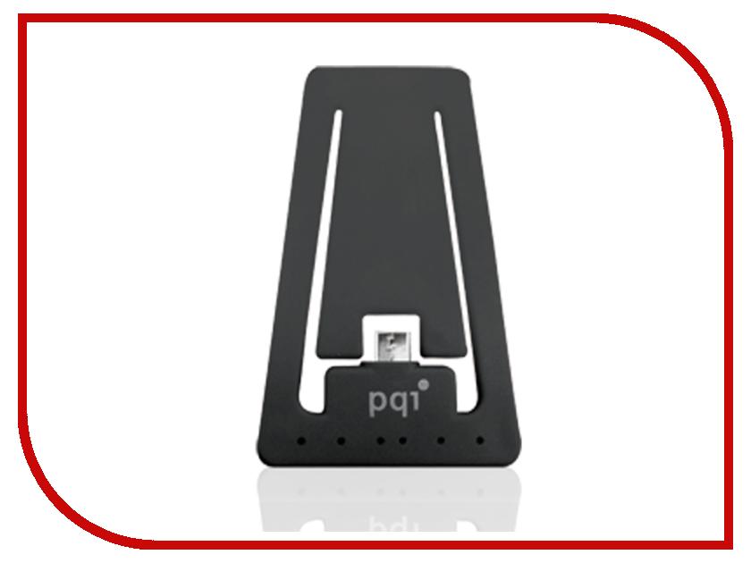 Гаджет PQI USB to MicroUSB Black PQI-uSTANDCHARGE-BK<br>