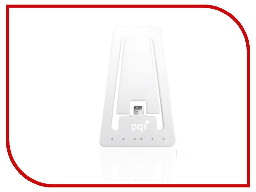 Гаджет PQI USB to MicroUSB White PQI-uSTANDCHARGE-WH<br>