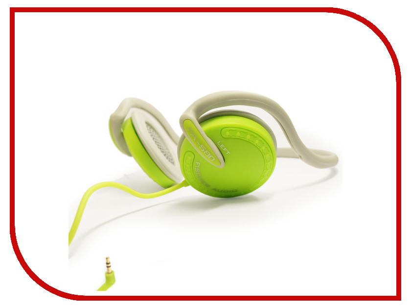 Fischer Audio Sport Series FA-580 гарнитура fischer audio fa 547 yellow green