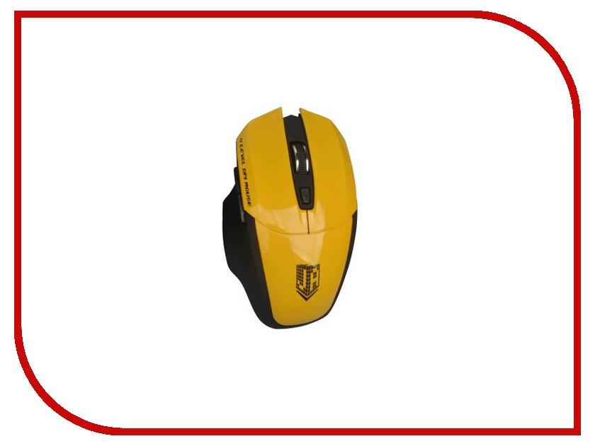 Мышь беспроводная Jet.A Comfort OM-U38G Yellow<br>