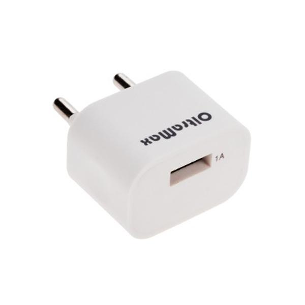 Зарядное устройство OltraMax USB 1А White OM-Z-00017