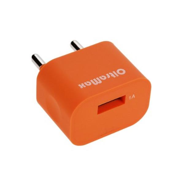 Зарядное устройство OltraMax USB 1А Orange OM-Z-00018