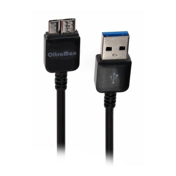 Аксессуар OltraMax USB - Micro USB 3.0 1m Black OM-K00031