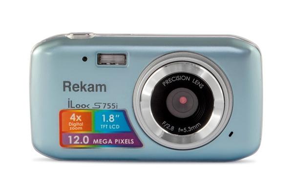 Фотоаппарат Rekam iLook S755i Metallic Grey