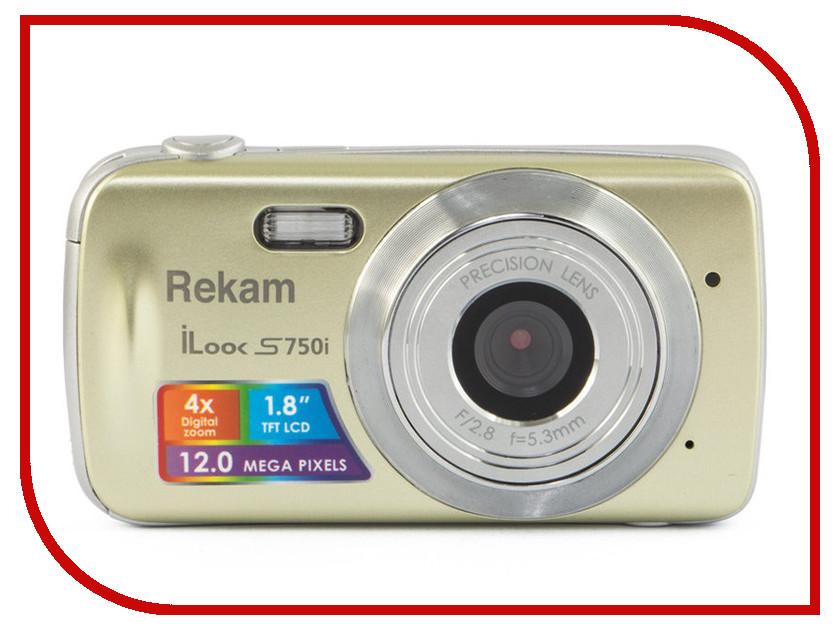 Фотоаппарат Rekam iLook S755i Champagne rekam visavis l 170 цифровая рамка