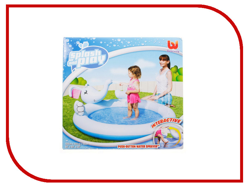 Детский бассейн BestWay Слон 53034 508645<br>