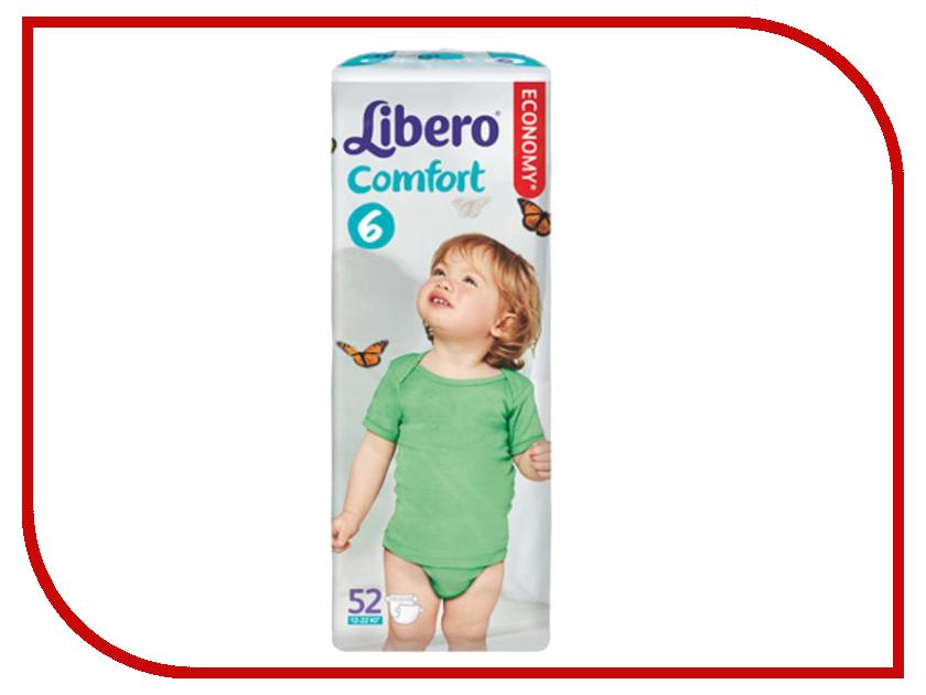 Подгузники Libero Comfort Extra Large 12-22кг 52шт 3701<br>