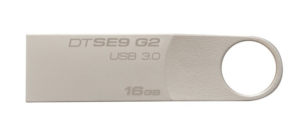USB Flash Drive 16Gb - Kingston DataTraveler SE9 G2 USB 3.0 Metal DTSE9G2/16Gb цена