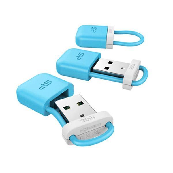 USB Flash Drive 16Gb - Silicon Power Unique 510 USB 2.0 Blue SP016GBUF2510V1B Онлайн