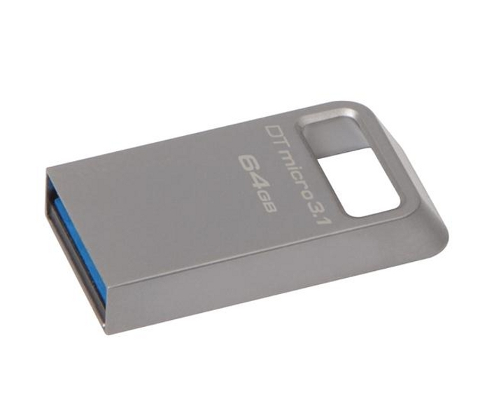 USB Flash Drive 64Gb - Kingston DataTraveler Micro 3.1 DTMC3/64Gb