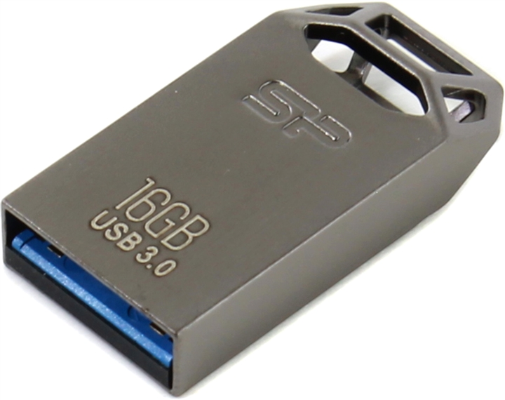 USB Flash Drive 16Gb - Silicon Power Jewel J50 3.0 Metal SP016GBUF3J50V1T