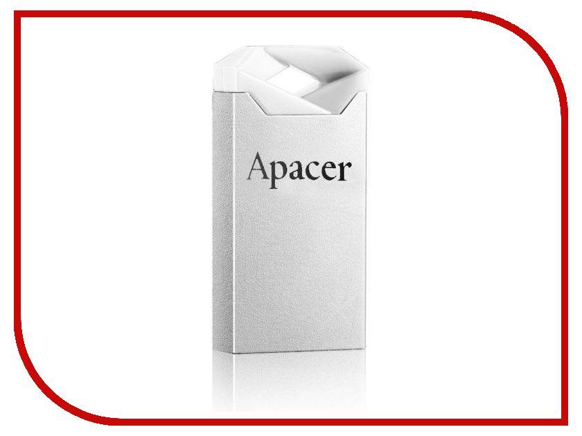 USB Flash Drive 4Gb - Apacer Handy Steno AH111 USB 2.0 Crystal AP4GAH111CR-1