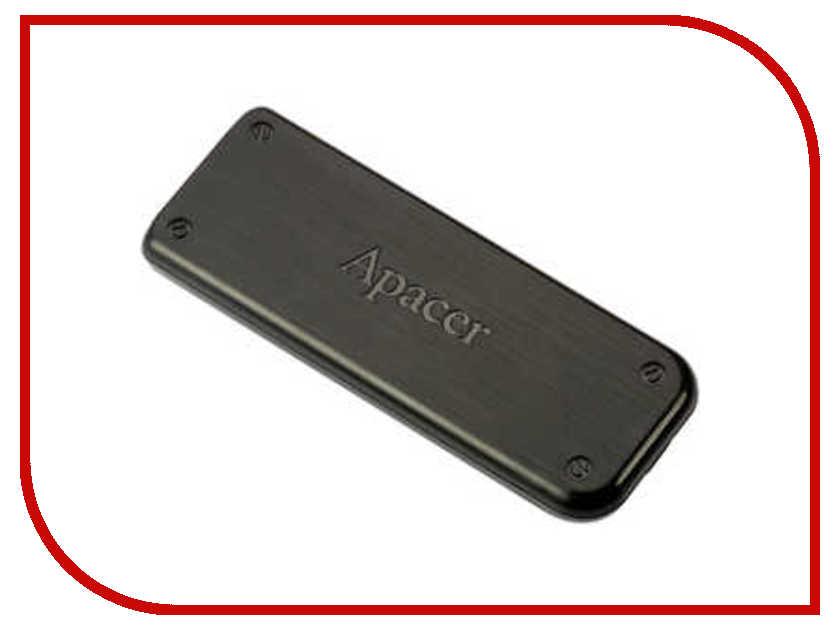 USB Flash Drive 4Gb - Apacer Handy Steno AH325 USB 2.0 Black AP4GAH325B-1<br>